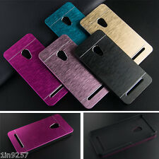 Brushed Aluminum+PC Hard case Luxury Metal Back Cover case for ASUS Zenfone 5