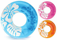 "Intex 36"" Swimming Pool Inflatable Tyre Swimming Beach Tyre Ring Pool Party"