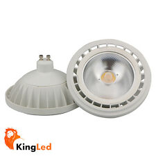 Lámpara AR111 LED GU10 15W COB 24° 220V 1200Lm Luz Blanco Calido y Luz Natural