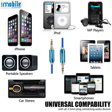 Aux cable for Car,I-Mobile Universal Aux cable for Mobile,Cellphone,Smartphone.