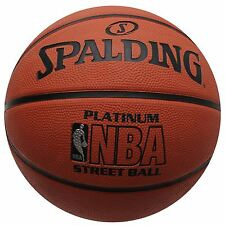 Spalding NBA Platinum Street Ball Basketball Orange Hoops Ball