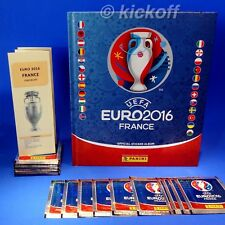 Panini EURO France 2016: Official HARDBACK Album + 10-50 packets. Hardcover. NEW
