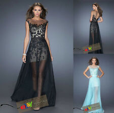 New Style Long Cocktail Formal Bridesmaid Evening Dresses Prom Party Gowns