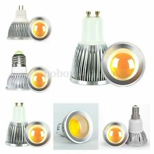 Dimmable MR16 GU5.3 GU10 E27 E14 3W 5W 7W LED COB Lampe Ampoule Lumiere 220V 12V
