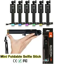 2015 Mini Portable Monopod Selfie Stick 3.5mm WIRED+FOLDABLE Mobile Phone Holder