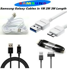 1M 2M 3M Compatible USB Cables for Genuine Samsung Galaxy Mobile Note Phones Tab