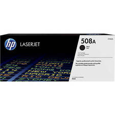GENUINE HP COLOUR LASERJET CF360A / 508A BLACK LASER PRINTER TONER CARTRIDGE
