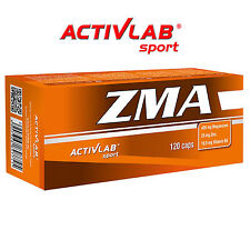 ZMA 60-180 Capsules Mineral Anabolic Muscle Growth Testosterone Booster Recovery