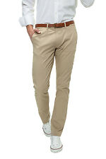 Selected Herren Business Chinohose Chino Hose Regular Stil Jeanshose Stoffhose %