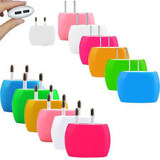 2A Dual USB Ports Home Wall Travel AC Power Charger Adapter For iPhone Samsung