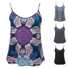 Vero Moda Damen Top Sommertop Leichtes Tank Top Print-Shirt Print/Color SALE %