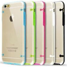 Trasparente PC e Gel TPU Silicone Custodia Paraurti per iPhone 6 6S+ Plus 5.5