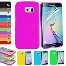 Soft Silicone Gel Rubber Phone Mobile Case Skin Cover Pouch For Samsung Apple LG