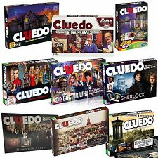 CLUE / CLUEDO - THE WORLDS BEST MURDER MYSTERY BOARD GAME - CHOOSE EDITION