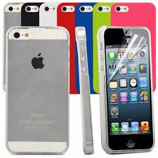 Armour Case Cover For Apple iPhone 5, 5S, SE -Slim Fit Snap On Hard Back