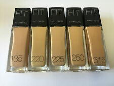 MAYBELLINE FIT ME FOUNDATION CHOOSE YOUR COLOUR