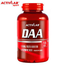 DAA 1000 120 Capsules Strong Testosterone Booster 1000 mg Full Month Cycle