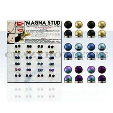 Illusion Magnet Piercing Fake Nasenstecker Ohrstecker Test Piercing Clip Ø 4mm