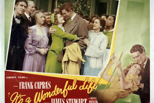 It'S A Wonderful Life James Stewart Donna Reed Classic 24x36 Poster(60x91cm)