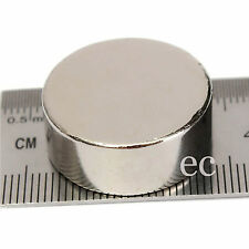 20mm x 4mm Very Strong Rare Earth NdFeb Big Neodymium Cylinder Disc Round Magnet