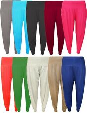 LADIES FULL LENGTH HAREM ALI BABA PANTS BAGGY WOMENS TROUSERS LEGGINGS PLUS SIZE