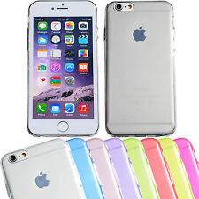 Handy Schutzhülle für iPhone 6/5/4/s SE Handy Silikon Case Etui Cover Ultra Slim