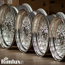 LENSO BSX BBS RS ALLOY WHEELS 3, 4 & 5 x 98 100 108 110 112 114.3 115 120 STUD
