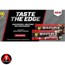 *NEW* BSN Syntha-6 Edge Protein Bars 12 x 66g High Protein Bar * 50% less sugar