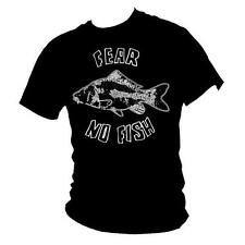 Carp fishing - FEAR NO FISH - Angling / coarse fishing mens T-shirt