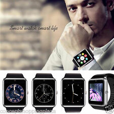 New Bluetooth GT08 SIM Card GSM GPRS Smart Watch  Phone Mate for Android & IOS
