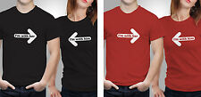 Couple T shirts- With Me._Black-Red Colour Tshirt (by iberrys)