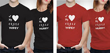 Couple T shirts- Love Crazy _Black-Red Colour Tshirt (by iberrys)