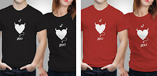 Couple T shirts- Love Devil _Black-Red Colour Tshirt (by iberrys)