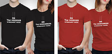 Couple T shirts- Geek gods _Black-Red Colour Tshirt (by iberrys)