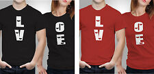 Couple T shirts- Love _Black-Red Colour Tshirt (by iberrys)