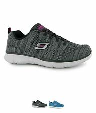 GINNASTICA Skechers Equalizer First Rate Ladies Trainers Black/White
