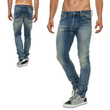 Jack & Jones Herren Jogg Jeans Skinny Jeans Jeanshose Regular Fit Denim Blue 50%