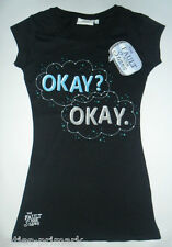 PRIMARK LADIES THE FAULT IN OUR STARS OKAY? OKAY T SHIRT TOP TEE SHIRT 8-20