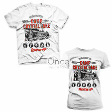 UNISEX or LADIES Official FRIDAY THE 13TH Camp Crystal Lake T-Shirt