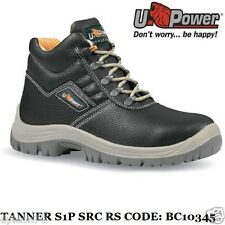 U Power Scarpe Antinfortunistiche Lavoro Alte S1P SRC RS Tanner BC10345 upower