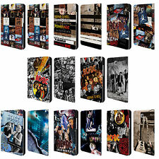 OFFICIAL AC/DC ACDC COLLAGE LEATHER BOOK WALLET CASE FOR SAMSUNG GALAXY TABLETS