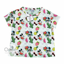 Primark Official Licensed DISNEY MICKEY MOUSE Retro SUMMER T Shirt