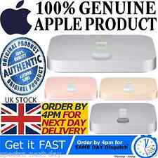 100% GENUINE OFFICIAL APPLE IPHONE LIGHTNING DOCK SYNC CHARGE DESK CRADLE 5 6 SE
