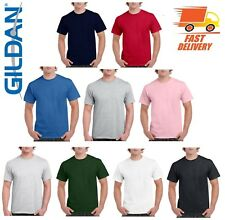 3 Pack Plain Blank Gildan 100% Heavy Cotton T-shirt Tshirt Multi Colors
