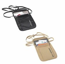 Sea To Summit STSATLN Travelling Light Travel Functional Neck Pouch Wallet