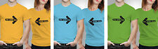 iberrys Couple Polyester Tshirts-with her him- Yellow-Green-Blue Colour