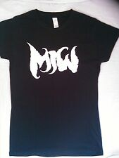 """MOTIONLESS IN WHITE """" MIW"""" LOGO LADIES FITTED T-SHIRT"""