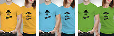 iberrys-Couple Tshirts- Polyester Mr. Mrs.Always- Yellow-Green-Blue Colour