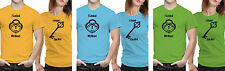 iberrys Couple Polyester Tshirts-  Lock & Key- Yellow-Green-Blue Colour