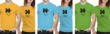 iberrys Couple Polyester Tshirts-My Missing Piece-Green-Blue Colour